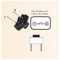 Push button NA (normalmente abierto)