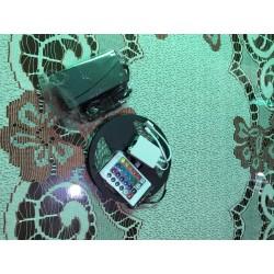 Tira led RGB 5m con eliminador