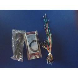 Paquete arduino mega 2560 + 65 cables dupont macho macho