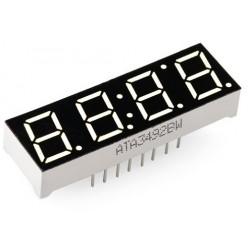 4 displays de 7 segmentos (display de 4 digitos)