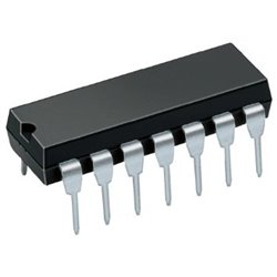 Compuerta decodificadora 74LS154
