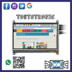 """Display touch 7"""" 800*480"""
